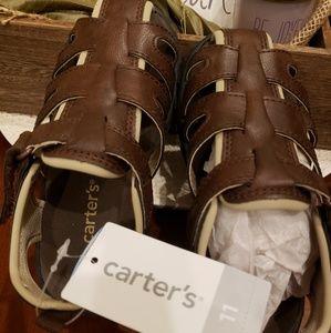 Toddler sandal boy size 11